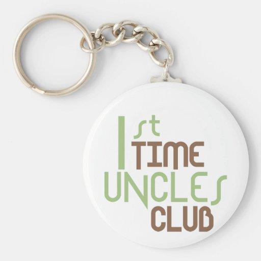 1r Club de los tíos del tiempo (verde) Llavero