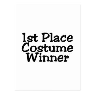 1r Coloque al ganador del traje Postal