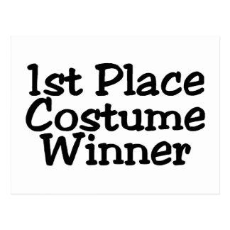 1r Coloque al ganador del traje Postales
