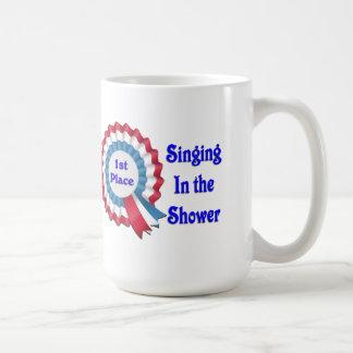 1r Coloque la ducha del canto Taza De Café