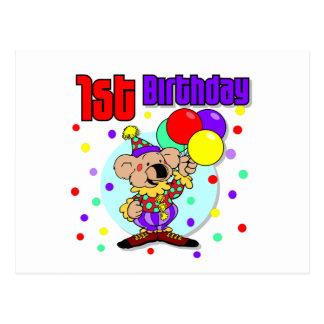 1r Cumpleaños de Australia del cumpleaños Postal