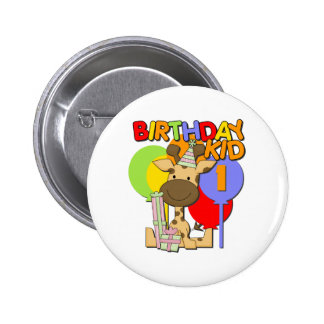 1r cumpleaños de la jirafa pin