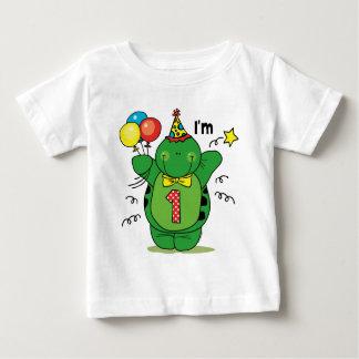 1r cumpleaños de la tortuga feliz polera