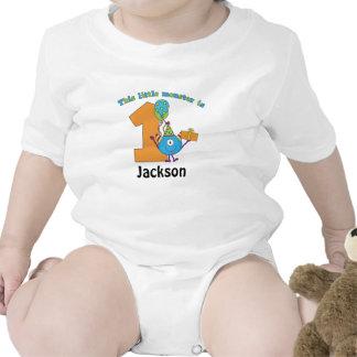 1r cumpleaños de los pequeños niños del monstruo p camiseta