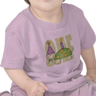 1r cumpleaños del bebé camiseta