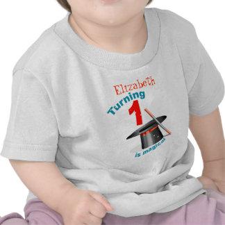1r cumpleaños del fiesta mágico camiseta