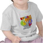 1r cumpleaños del hipopótamo camisetas
