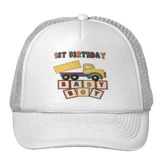 1r cumpleaños del muchacho gorros