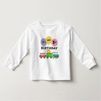 1r Cumpleaños del tren del cumpleaños Camisas