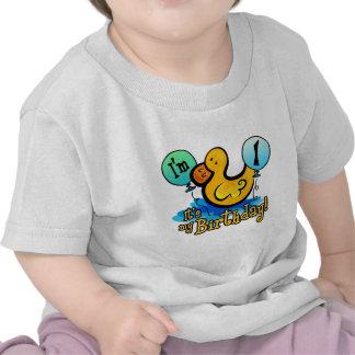 1r cumpleaños Ducky Camiseta