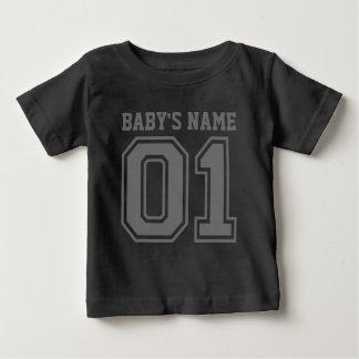 1r Cumpleaños (el nombre del bebé adaptable) Playera De Bebé