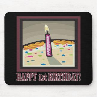 1r cumpleaños feliz alfombrillas de ratones