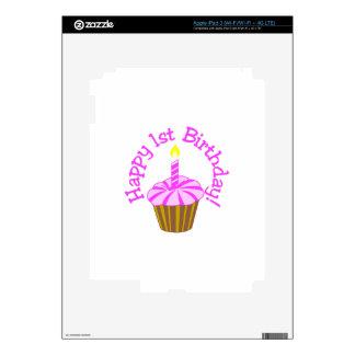 1r cumpleaños feliz pegatinas skins para iPad 3