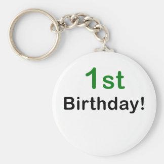 1r Cumpleaños Llaveros Personalizados