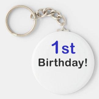 1r Cumpleaños Llavero Personalizado