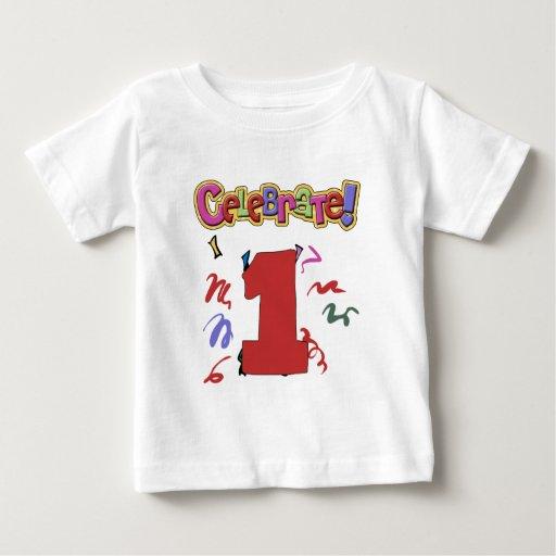 1r cumpleaños playera de bebé