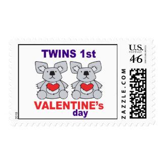 1r día de San Valentín de los gemelos