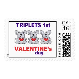 1r día de San Valentín de los tríos