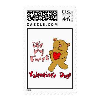 1r Día de San Valentín Sello
