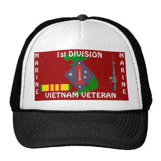 1r Div marino Vietnam 1/r Gorra