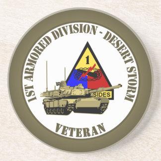 1r División acorazada [1r ANUNCIO] Posavaso Para Bebida