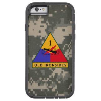 "1r División acorazada ""viejo hombre fuerte"" Funda Tough Xtreme iPhone 6"