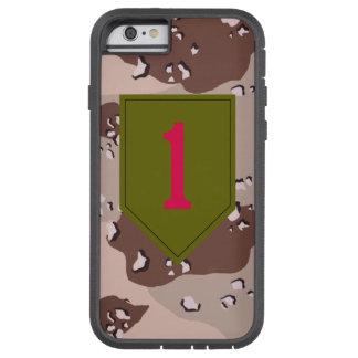 """1r División de infantería desierto """"del rojo Funda Tough Xtreme iPhone 6"""