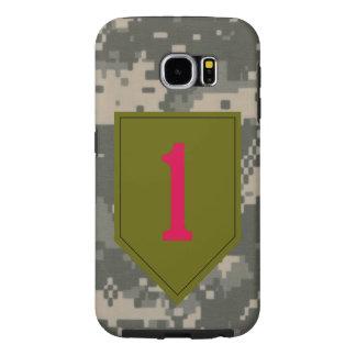 """1r División de infantería """"el rojo grande uno"""" Funda Samsung Galaxy S6"""