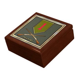 1r División de infantería Cajas De Recuerdo