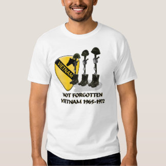 1r DIVISIÓN de la CABALLERÍA, GUERRA de VIETNAM Camisas
