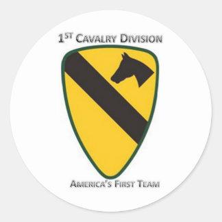 1r División de la caballería Etiqueta Redonda