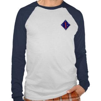 """1r División de Marina """"la vieja raza """" Camiseta"""