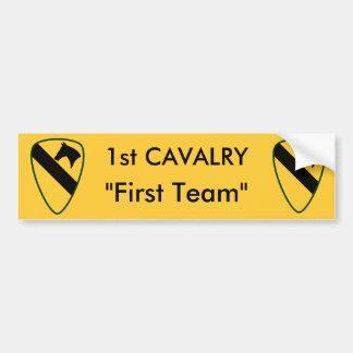 1r División del Calvary Pegatina Para Auto