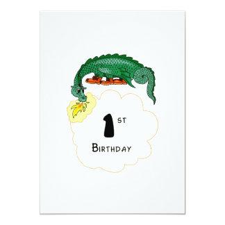 1r Dragón del cumpleaños Anuncio Personalizado