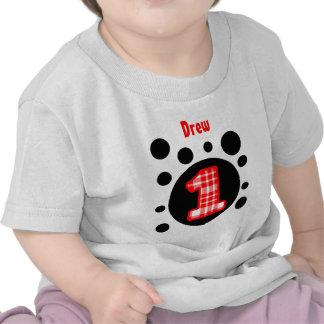 1r El cumpleaños burbujea un V10W año Camisetas