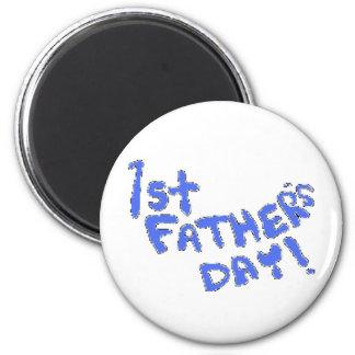 1r ¡El día de padre! Imán Redondo 5 Cm