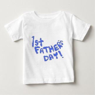 1r ¡El día de padre! Playera De Bebé