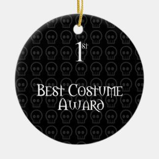 1r El lugar B&W Morph el mejor premio del traje de Adorno Navideño Redondo De Cerámica