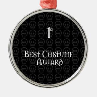1r El lugar B&W Morph el mejor premio del traje de Adorno Navideño Redondo De Metal