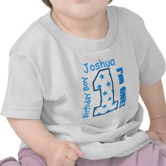 1r El muchacho del cumpleaños protagoniza un Camiseta