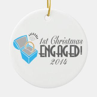 1r El navidad dedicado adorna anticuado Ornamentos De Navidad