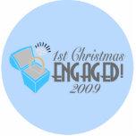 1r El navidad dedicó 2009 (el ornamento de Navidad Esculturas Fotográficas