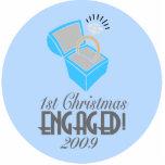 1r El navidad dedicó 2009 (el ornamento de Navidad Escultura Fotográfica