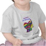 1r elefante del cumpleaños del bebé camisetas