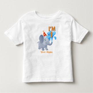 1r Elefante del cumpleaños Poleras