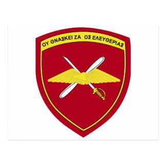 1r Emblema Grecia de la brigada de aviación de Postales