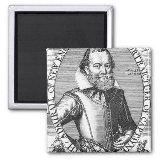 1r gobernador de capitán John Smith de Virginia Imán De Frigorífico