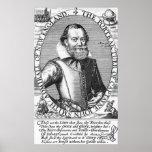 1r gobernador de capitán John Smith de Virginia Impresiones