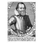 1r gobernador de capitán John Smith de Virginia Felicitacion