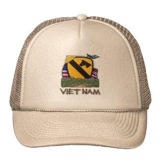 1r gorra de los veteranos de Vietnam de la divisió